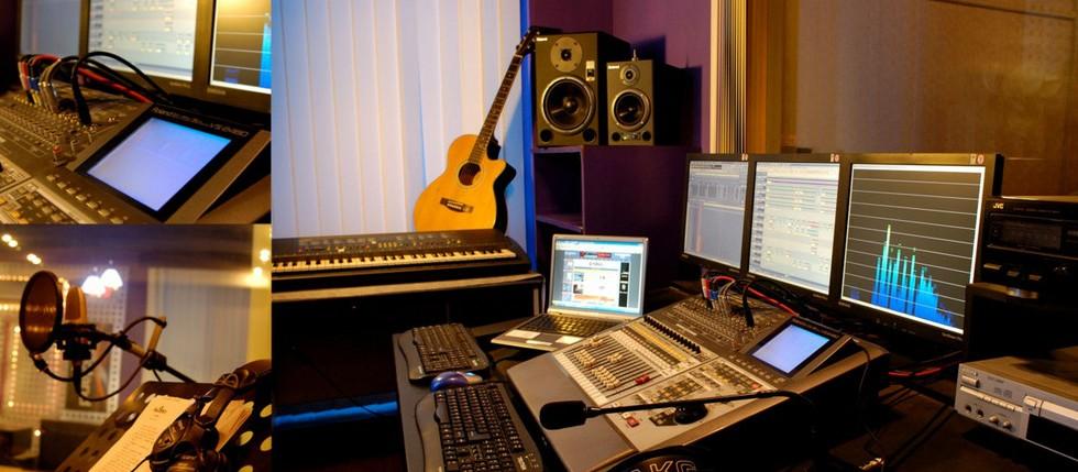 福音录音棚还拥有极赋创造力的影视制作团队.